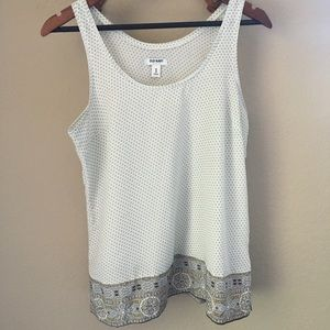 Women's Old Navy Tank Top Neutral Colors